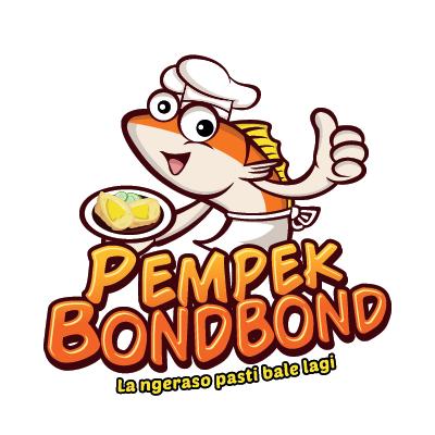Desain Logo Pempek BondBond400
